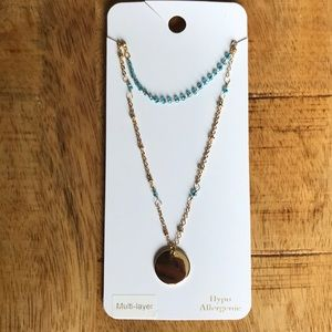 Charming Charlie multi-layer necklace